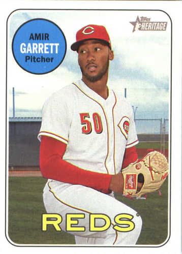 Photo of 2018 Topps Heritage #390 Amir Garrett