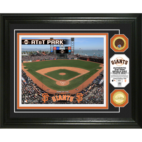Photo of Serial #1! San Francisco Giants Dirt Coin Photo Mint