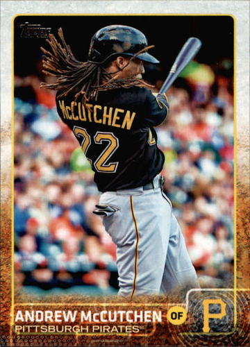 Photo of 2015 Topps #400A Andrew McCutchen