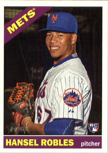 Photo of 2015 Topps Heritage #612 Hansel Robles RC