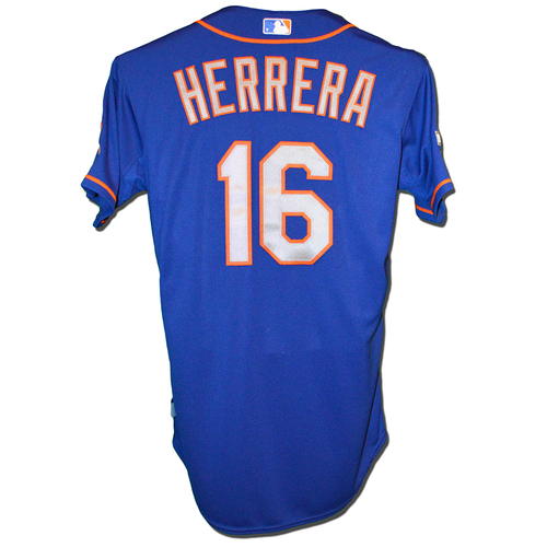 Photo of Dilson Herrera #16 - Team Issued Blue Alt. Road Jersey - 2015 Postseason