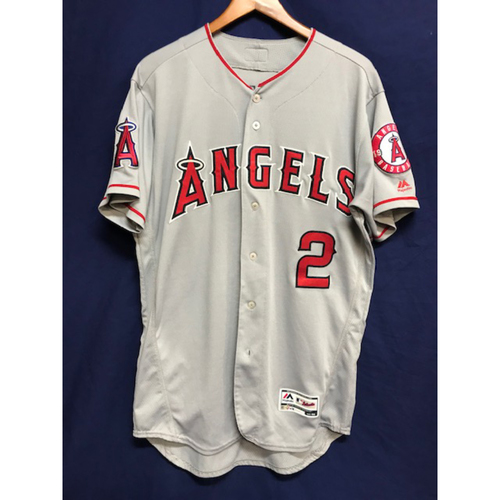 Photo of Andrelton Simmons Game-Used Road Jersey