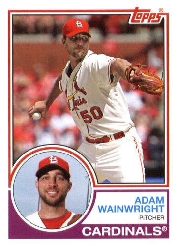 Photo of 2015 Topps Archives #263 Adam Wainwright