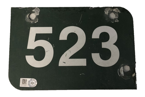 Photo of Wrigley Field Collection -- Aisle Marker 523 -- Removed after 2018 Season