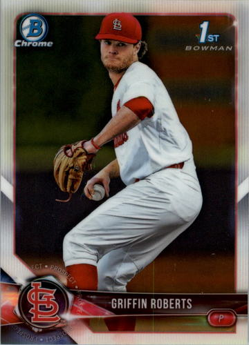Photo of 2018 Bowman Chrome Draft #BDC137 Griffin Roberts