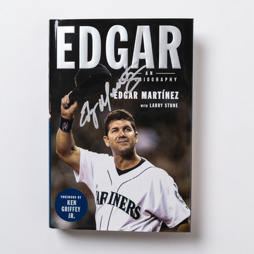 "Photo of Mariners Care: ""Edgar: An Autobiography"" Autographed by Edgar Martinez"