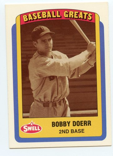Photo of 1990 Swell Baseball Greats #96 Bobby Doerr