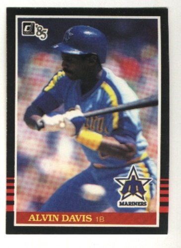 Photo of 1985 Donruss #69 Alvin Davis RC*