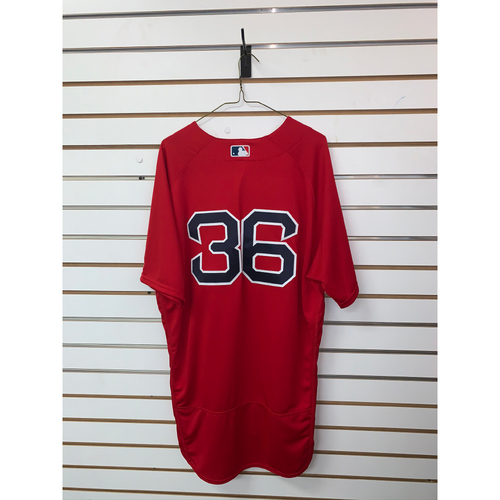 Photo of Eduardo Nunez Team-Issued 2018 Home Alternate Jersey