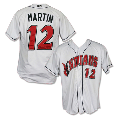 #12 Jason Martin Autographed Game Worn Home White Jersey