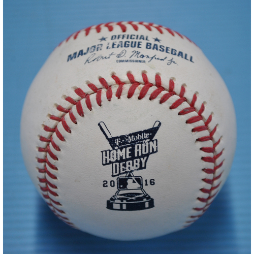 Photo of Game-Used Baseball - 2016 Home Run Derby - Adam Duvall - Round 1, Out