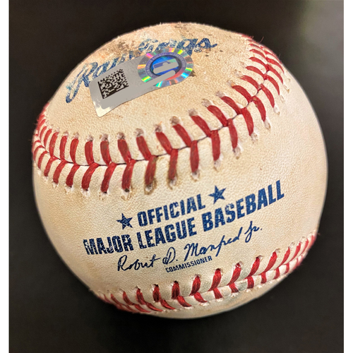 Photo of Miguel Cabrera Detroit Tigers Walk Baseball (MLB AUTHENTICATED)
