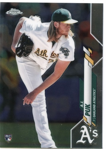 Photo of 2020 Topps Chrome #116 A.J. Puk RC