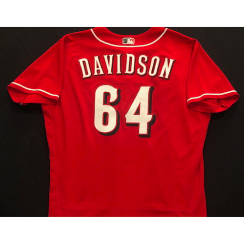 Photo of Matt Davidson -- 2020 Spring Training Jersey -- Team-Issued -- Size 48