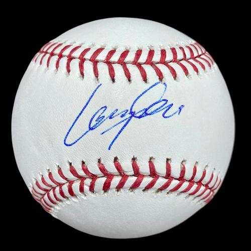 Photo of Lane Thomas Autographed Baseball