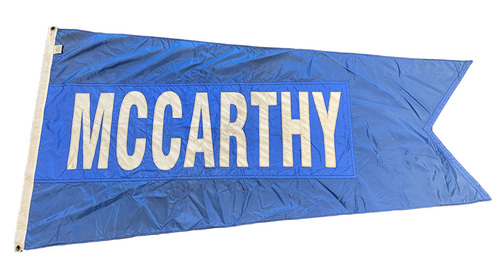Photo of Wrigley Field Collection -- Rooftop Flag --  Joe McCarthy
