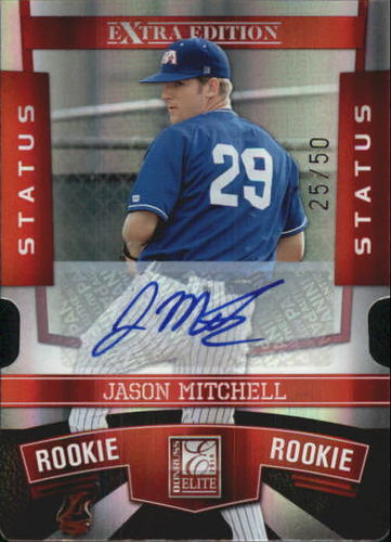 Photo of 2010 Donruss Elite Extra Edition Signature Status #151 Jason Mitchell