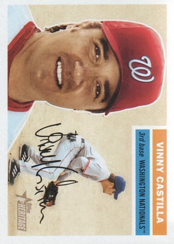 Photo of 2005 Topps Heritage #139 Vinny Castilla