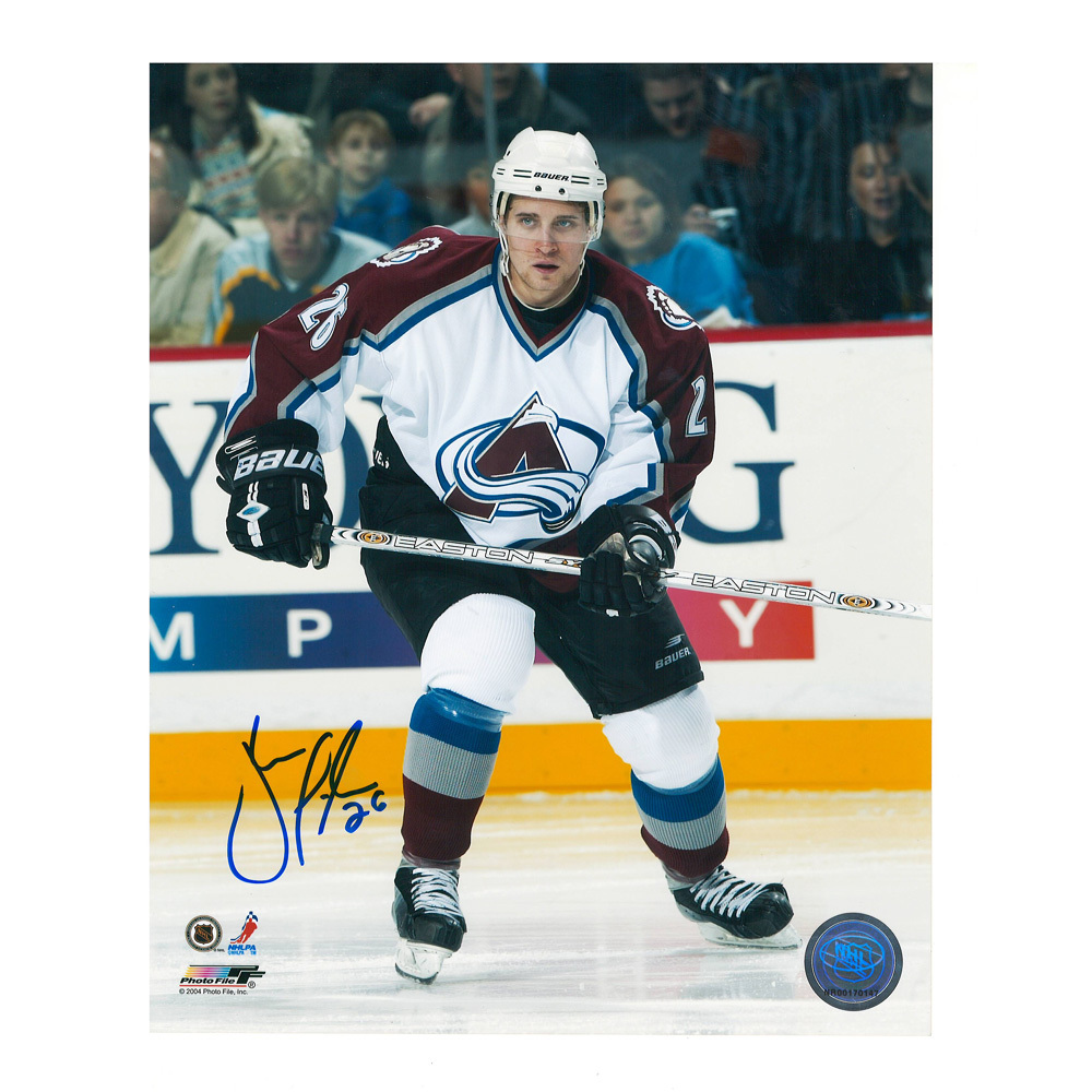 JOHN MICHAEL LILES Signed Colorado Avalanche 8 X 10 Photo - 70297