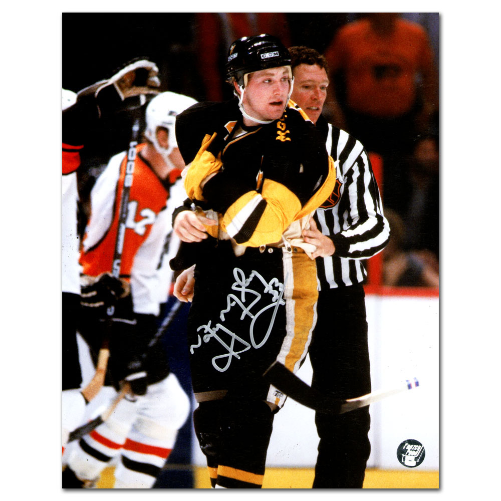 Marty McSorley Autographed Pittsburgh Penguins 8X10 Photo