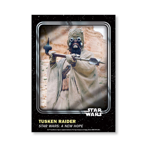 Tusken Raider 2016 Star Wars Card Trader Base Poster - # to 99