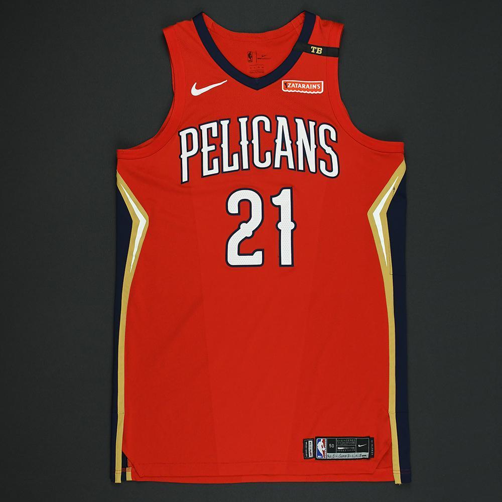 Darius Miller - New Orleans Pelicans - 2018 NBA Playoffs Game-Worn Statement Jersey