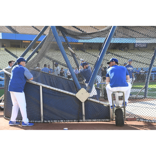 Photo of LADF Blue Diamond Gala Auction: Opportunity to Watch Dodgers Batting Practice