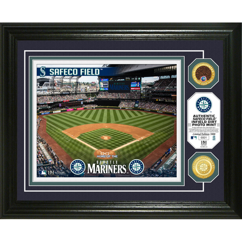 Photo of Serial #1! Seattle Mariners Dirt Coin Photo Mint