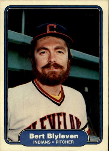 Photo of 1982 Fleer #361 Bert Blyleven