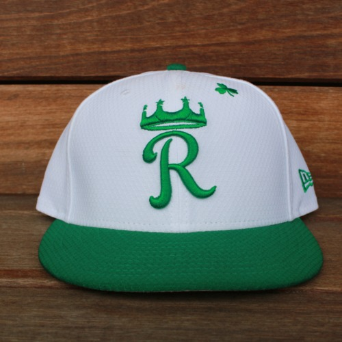 Photo of Game-Used Saint Patrick's Day Cap: Tim Hill (KC @ SF - 3/17/19 - Size 7 3/8)