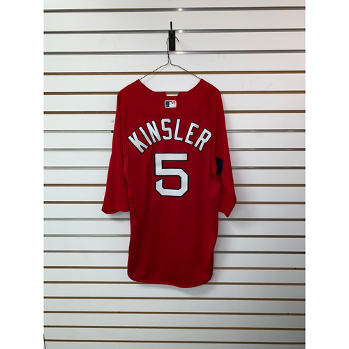 Photo of Ian Kinsler Team Issued Home Batting Practice Jersey