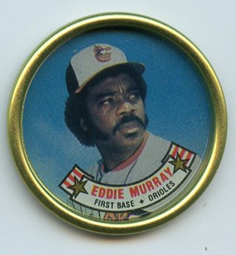 Photo of 1988 Topps Coins #22 Eddie Murray