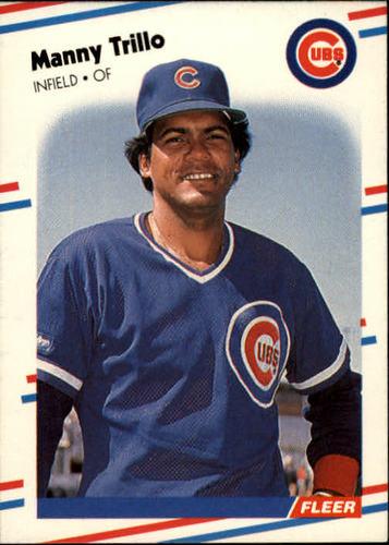Photo of 1988 Fleer #436 Manny Trillo