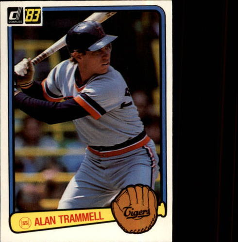 Photo of 1983 Donruss #207 Alan Trammell