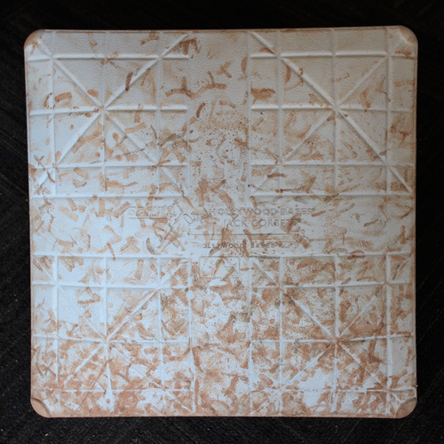 Game-Used Base - Tampa Bay Rays at Baltimore Orioles (8/2/2020) - 1st Base - Innings 4.5-9