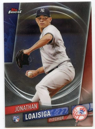Photo of 2019 Finest #111 Jonathan Loaisiga SP RC