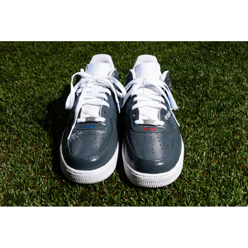 Photo of Promote the Vote: Custom Design Sneakers Theme: 42 and Game-Used Baseball