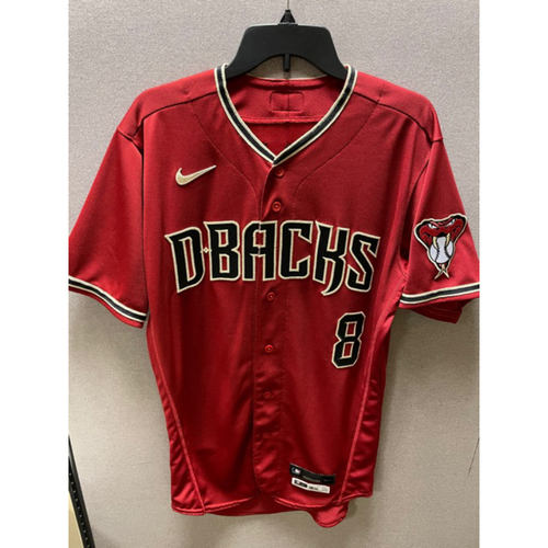 Mike Leake 2020 Team-Issued Red Alternate Jersey (Size 40T + 1S)