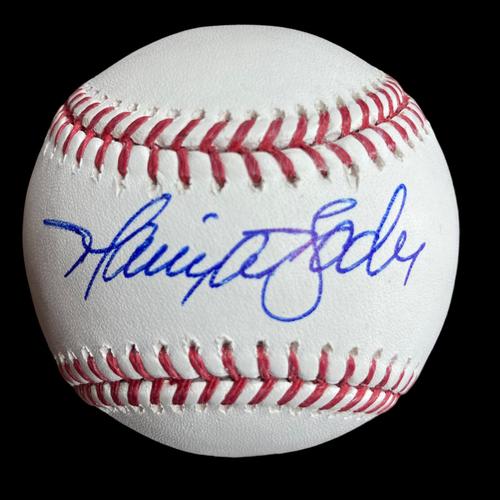 Harrison Bader Autographed Baseball