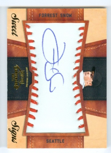 Photo of 2011 Playoff Contenders Sweet Signs Autographs #6 Forrest Snow/99
