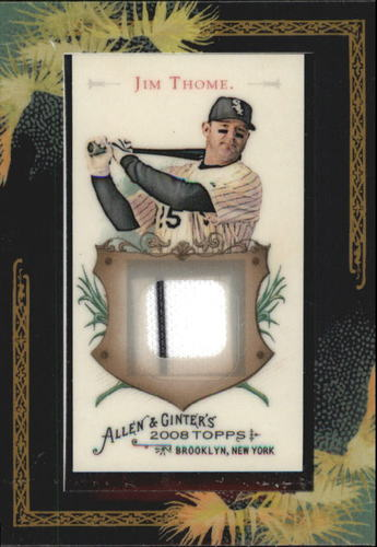 Photo of 2008 Topps Allen and Ginter Relics #JT Jim Thome Jsy C
