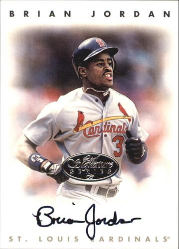 Photo of 1996 Leaf Signature Autographs Silver #121 Brian Jordan