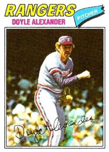Photo of 1977 Topps #254 Doyle Alexander