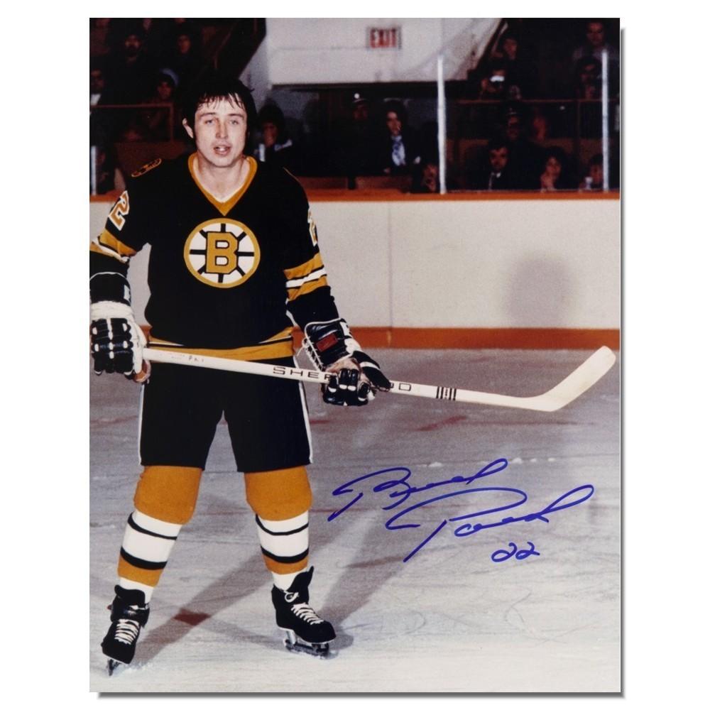 Brad Park Autographed Boston Bruins 8x10 Photo