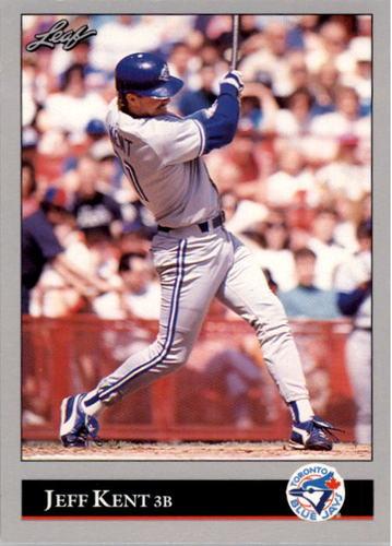 Photo of 1992 Leaf #445 Jeff Kent RC