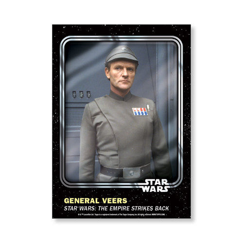 General Veers 2016 Star Wars Card Trader Base Poster - # to 99