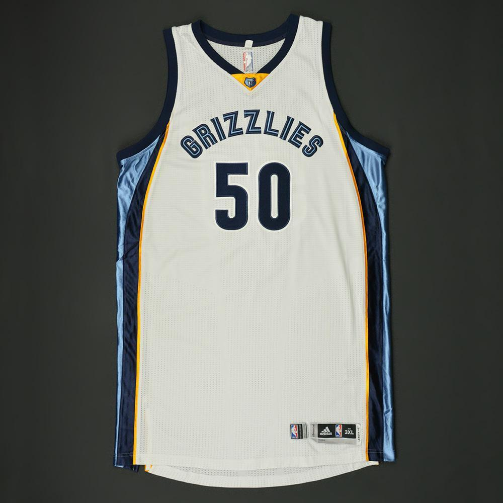 100% authentic 54147 f4e39 Zach Randolph - Memphis Grizzlies - Game-Worn Jersey - 2016 ...