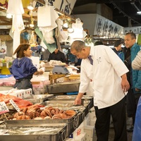 Photo of TSUKIJI Fish Market Tour and Make Your Own Sushi with Hilton Tokyo - click to expand.