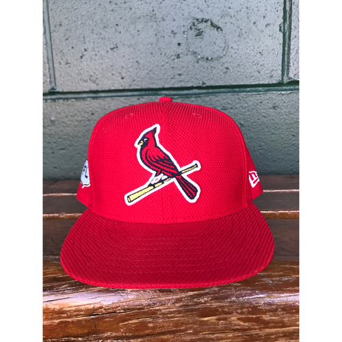 Cardinals Authentics: Kevin Siegrist Team-Issued 2017 Spring Training Cap