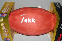 NFL - FALCONS TAKKARIST MCKINLEY SIGNED AUTHENTIC FOOTBALL